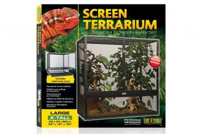 Exo Terra Screen Terrarium large extra hoog