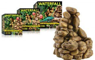 Exo Terra Pebble Waterfall - waterval kiezeldesign