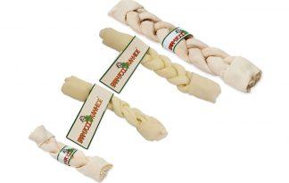 Farm Food Rawhide Dental Braid Stick