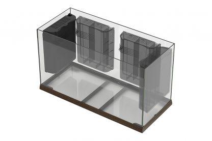 Ferplast Dubai 120 Mahogany - verplaatsbaar filter