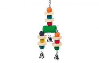 Ferplast houten vogelspeeltje met bel