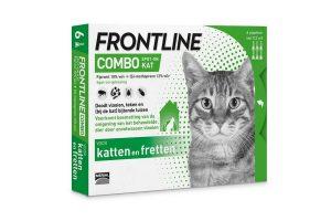 Frontline Combo Spot-On kat vlooiendruppels