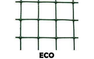 Groen geplastificeerd volièregaas ECO