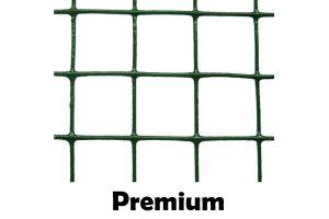 Groen geplastificeerd volièregaas Premium