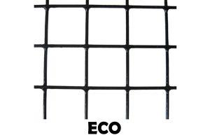 Zwart geplastificeerd volièregaas ECO