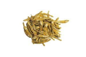 Gedroogde ansjovis, 100 gram