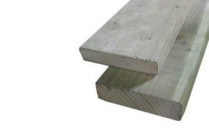 Geïmpregneerd houten planken