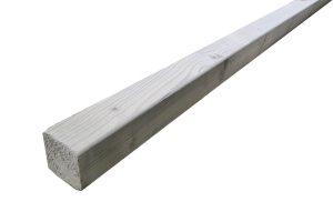 Geïmpregneerd houten balken 44 x 44 mm