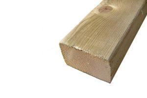 Geïmpregneerd houten balken 44 x 70 mm