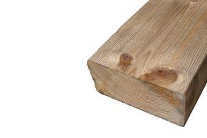Geïmpregneerd houten balken 44 x 95 mm