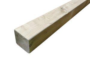 Geïmpregneerd houten balken 95 x 95 mm