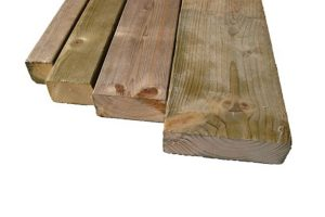 Geïmpregneerd houten balken