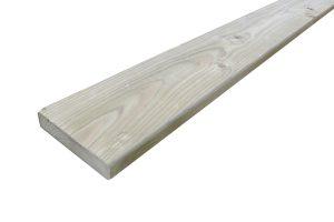 Geïmpregneerd houten plank 18 x 95 mm