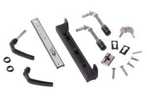 Giardino poort slot met unieke sleutels