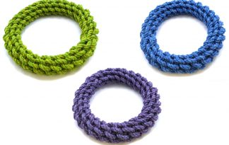Happy Pet Nuts for Knots ring