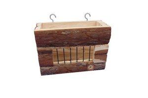 Happy Pet natuurlijk houten hooiruif