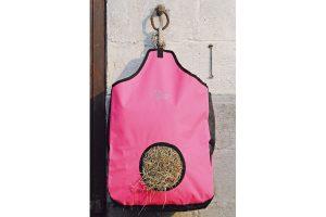 Harry's Horse hooizak met gaas inzet - roze