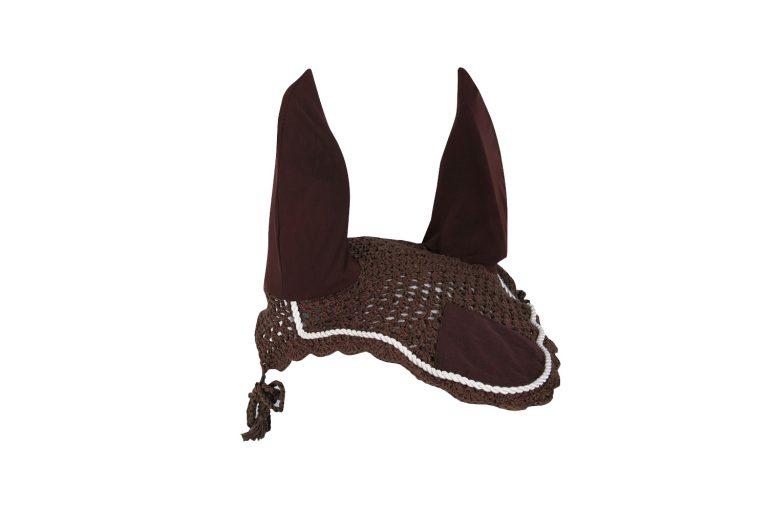 Harry's Horse Vliegennetje met elastische oren Bruin