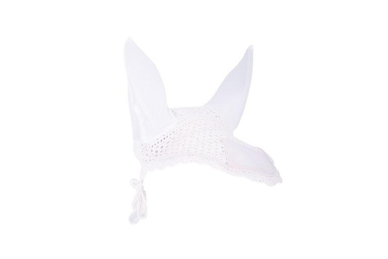 Harry's Horse Vliegennetje met elastische oren Wit