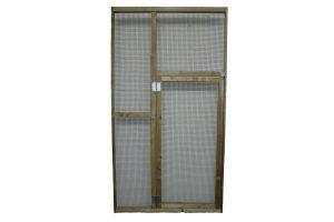 Hobbylijn volièrebouw - zijwand met deur