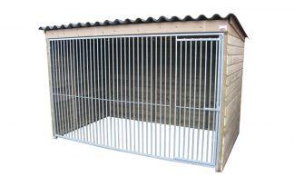 Hondenkennel hoog model 300 cm