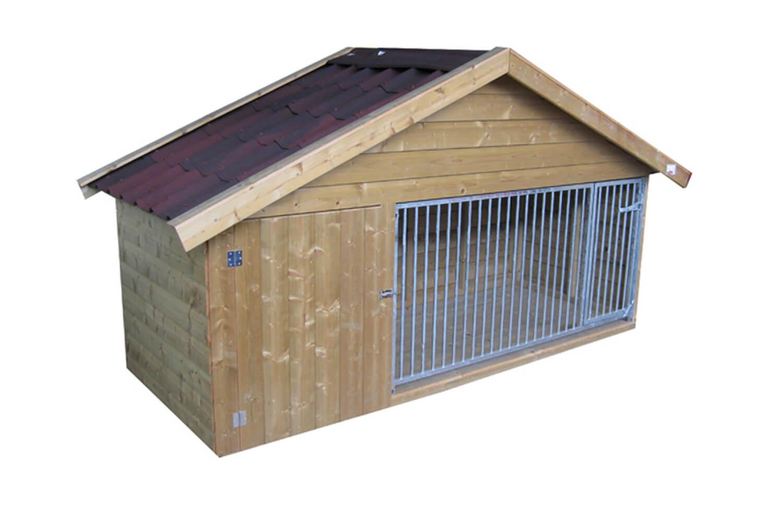 Hondenkennel laag model Exclusief 340
