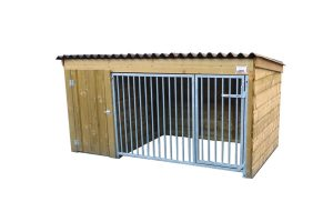 Hondenkennel laag model 225