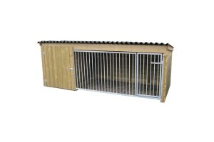 Hondenkennel laag model 300