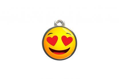 De dierenpenning emoji is een luxe custom made penning gemaakt van hoogwaardig materiaal. De penning is afgewerkt met een vernikkelde laag zodat de penning mooi zal blijven.