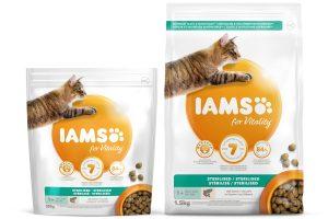 Iams for Vitality Adult Sterilised met zalm