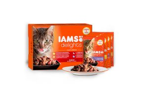 Iams Delights Multipack land collection in gelei