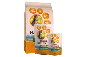 Iams Naturally cat adult Lam & Rijst