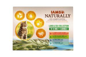 Iams Naturally Land & Sea collection 12x