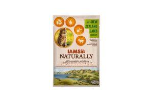 Iams Naturally adult met Nieuw-Zeelands Lam in saus