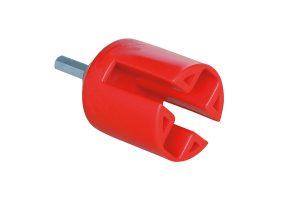 Inschroefhulp voor isolatoren