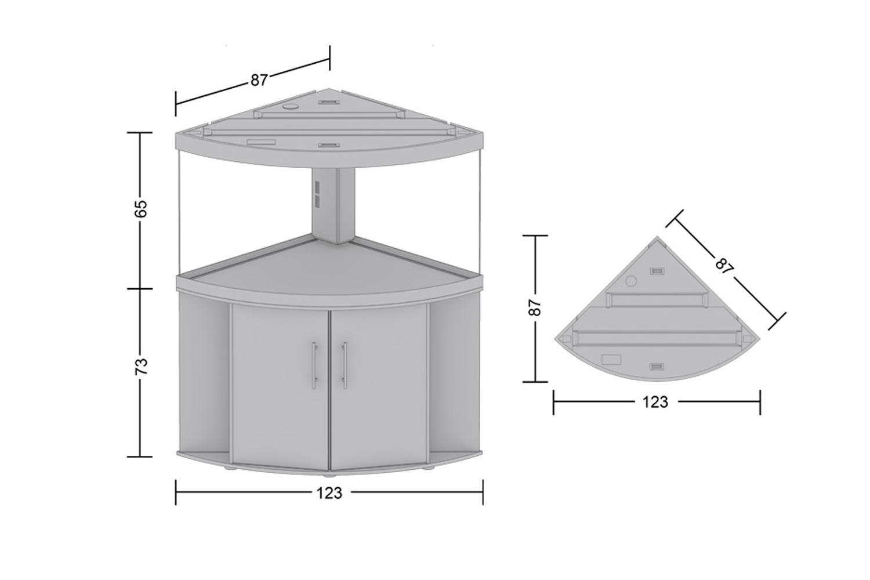 juwel trigon 350 aquarium. Black Bedroom Furniture Sets. Home Design Ideas