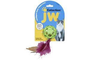 JW Cataction Feather Ball met bel