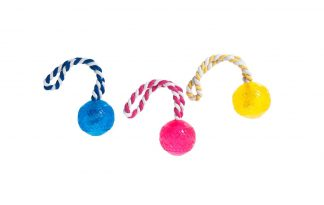 Karlie-Flamingo Good4Fun bal met touw