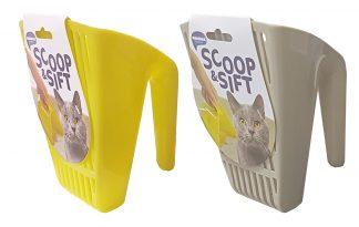 Kattenbakschep scoop