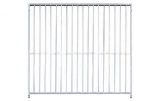 Kennelpaneel verzinkt 8 cm spijl - 300 cm - zonder deur