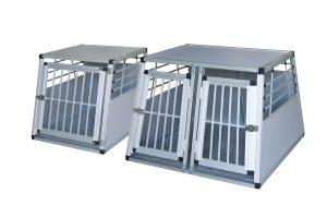 Kerbl aluminium transportbox enkel