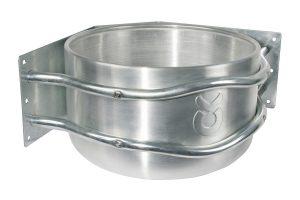 Kerbl aluminium voertrog - hoekmodel