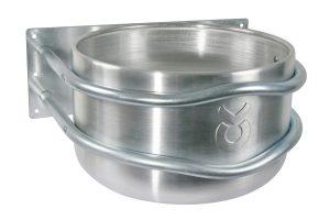 Kerbl aluminium voertrog - recht model