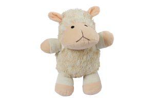 Kerbl Shaggy Sheep hondenknuffel met piep