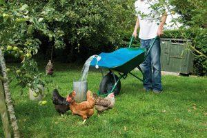 Waterzak H2go 80 liter, voor kruiwagen
