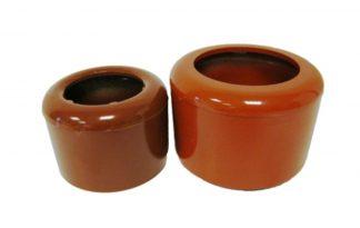 Kunststof voer- of drinkpot
