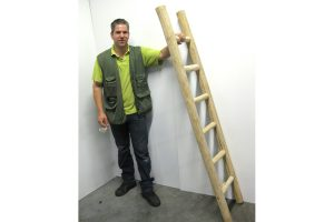 Ladder teakhout XL
