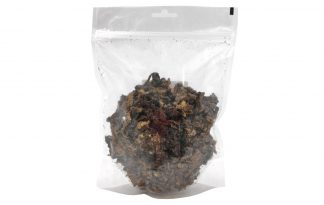 Lamslong trainers zijn heerlijke snacks gemaakt van gedroogd lamslong. Een 100% natuurlijke snack afkomstig van het lam. Een ideale verwennerij of beloning tijdens het uitlaten of de training.