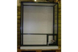 Maatwerk aluminium vogelkooi 02