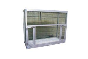 Maatwerk aluminium vogelkooi 03